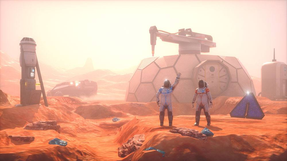 Galileos Mission to Mars Screenshot